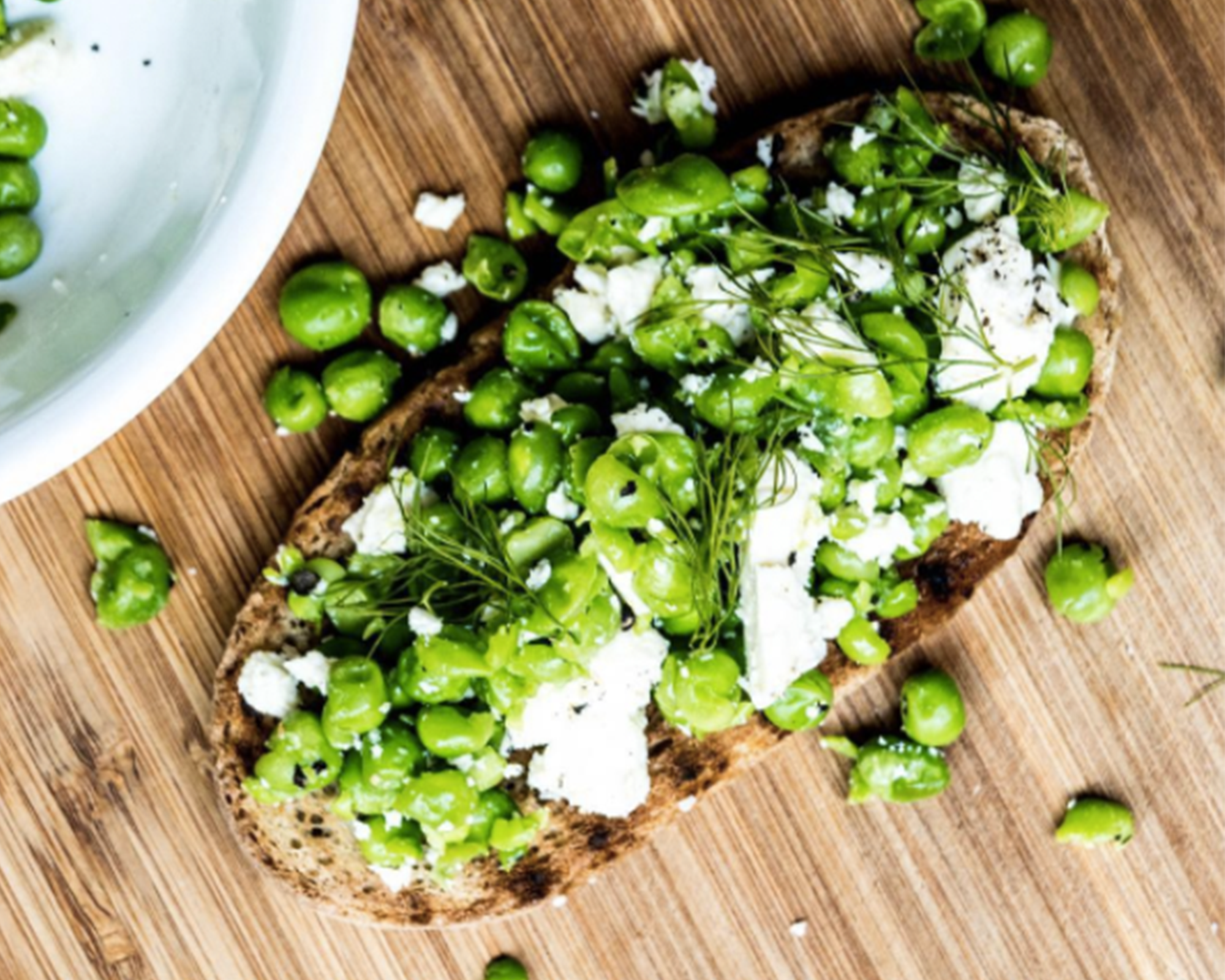 Green Goodness Bruschetta